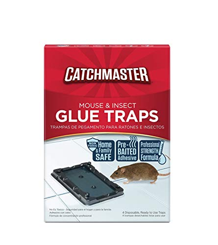 Catchmaster Mouse amp Insect Professional Strength Glue Traps  Non Toxic  16 Glue Trays