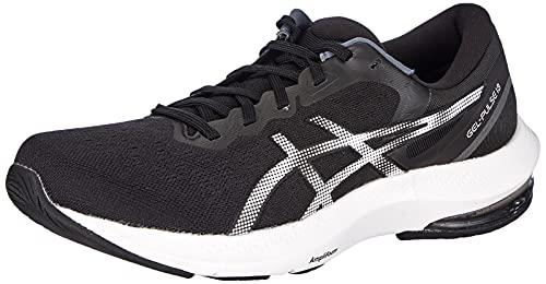 Asics Gel-Pulse 13, Zapatillas para Correr Hombre, Black/White, 42 EU