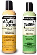 Aunt Jackie's Oh so Clean! Shampoo & Quench Leave-in Conditioner 12 Oz Each