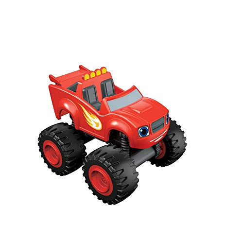 Blaze y los Monster Machines Monstruos Blaze y los Monster, Color Rojo, Miscelanea (Mattel CGF21)