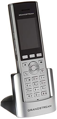 Grandstream WP820 Portable Wi-Fi Phone Voip Phone and Device, Silver