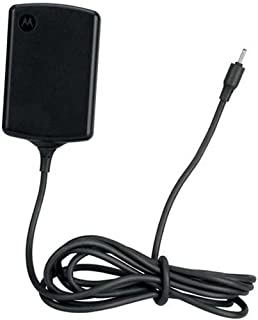 Motorola 89452N/SPN5633A Xoom Travel Charger with Original OEM 89452N SPN5633A - Non-Retail Packaging - Black