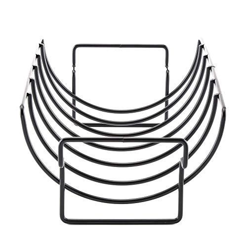ZTBXQ Tragbares Grillzubehör für den Außenbereich Raucherzubehör Tragbares Antihaft-Barbecue-Grillregal Steak-Gestell Antihaft-Grillnetz für Küchengeräte für den