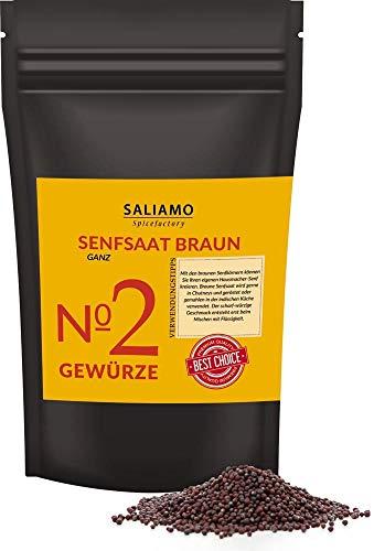 1 Kg Senfsaat, Senfsamen braun , Senfkörner, zur Senfherstellung, Senföl, zum einlegen von Essig...