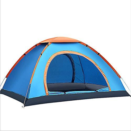 NCBH Tent voor Camping | met Easy Setup Draagbare Camping Wandelen luifel Eenvoudige Set Up Licht Gewicht Winddicht Stabiel 3 of 4 Persoon