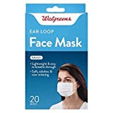 Walgreens Ear Loop Face Mask- Small 20 Count