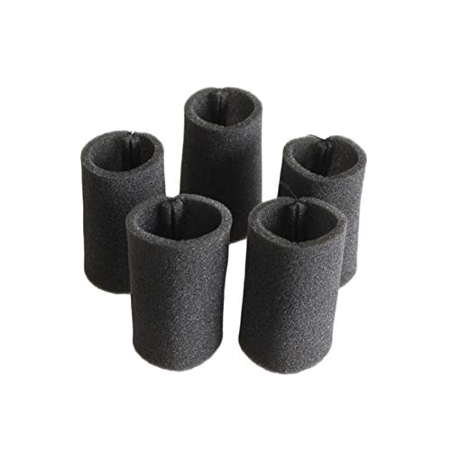 TSAUTOP Newest 5/6 stücke Filterelemente Schwammabdeckungen Kit Filterung Mikrostaub für Dee-RMA DX700 DX700S Wireless Staubsauger Zubehör (Color : 5 Filter Cotton)