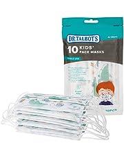 Dr.Talbot's Kindermondmasker met 3-laags filter en makkelijk te plooien neusclip- voor jongens