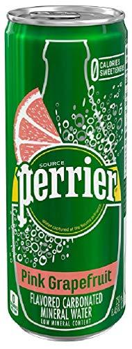 ネスレ ペリエ ピンクグレープフルーツ 炭酸水 缶 250ml 直輸入品 ×30本