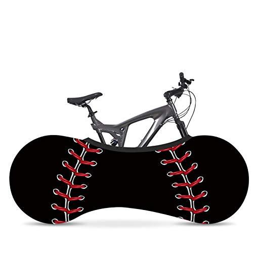 AGQH Cubierta de Bicicleta Universal Interior, MTB Road Bicycle Protective Cover Mantiene limpios los Pisos y Paredes de su casa, para Bicicleta de montaña, Bicicleta de Carreras, Bicicleta Plegable