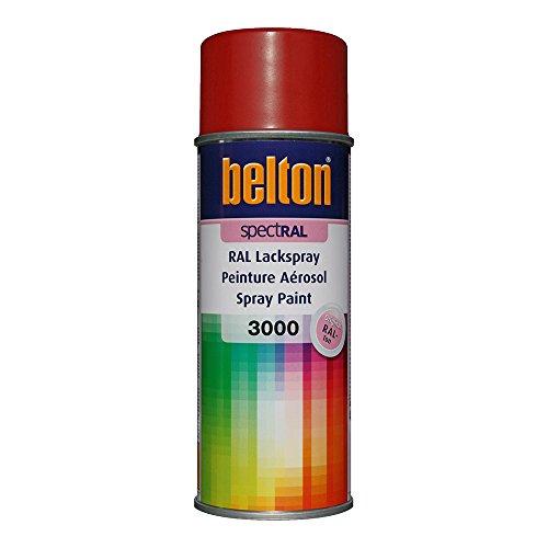 Unbekannt KWASNY 324 301 Belton Spectral Lackspray RAL 3000 feuerrot seidenglanz 400ml