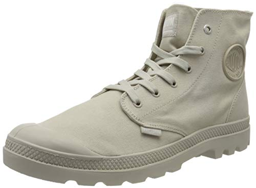 Palladium Pampa Hi Mono U, Sneaker a Collo Alto Unisex-Adulto, Grigio (Rainy Day K76), 36 EU
