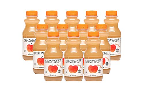 Red Jacket Orchards Fuji Apple Juice, Cold Pressed, 100% Juice,...
