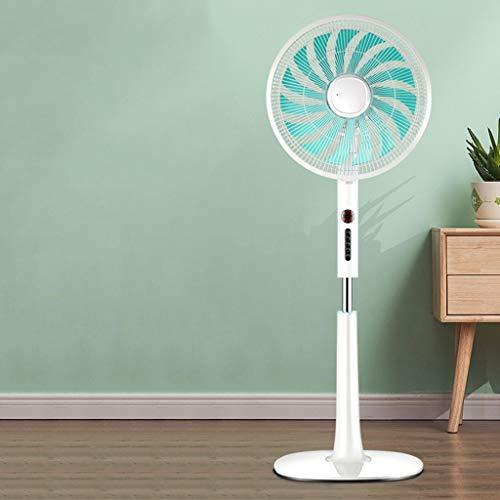Ventilador Ventilador eléctrico Gale vertical, ventilador de piso en casa tiempo de control remoto ventilador de escritorio del dormitorio sacudiendo la cabeza muda 45w ventilador eléctrico