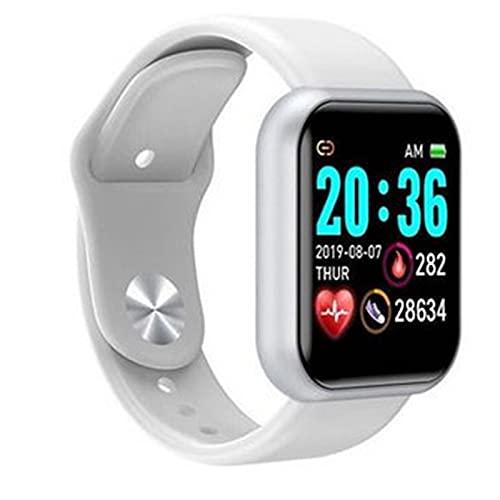 ALLWIN Reloj Deportivo Digital Inteligente para Mujer, Reloj De Pulsera Electrónico Led Digital, Reloj De Pulsera Deportivo Bluetooth, Reloj para Hombres Y Niños,Plata