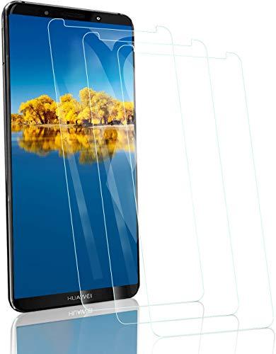 RSSYTZ [3 Pack Protector de Pantalla para Huawei Mate 10 Pro, [9H Dureza] [Resistente a Arañazos] [Admite la función de Huella Digital] Vidrio Templado Screen Protector para Huawei Mate 10 Pro