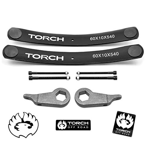 TORCH 3' Front 2' Rear Leveling Lift Kit for 1995-2001 Ford Explorer Add-A-Leaf