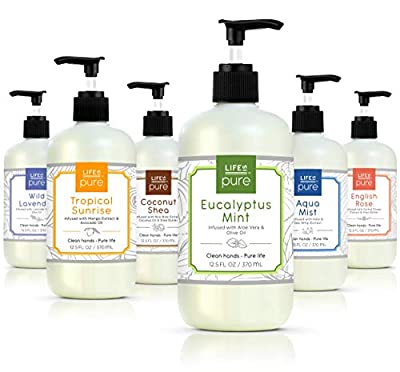Life Is Pure, 6 Fun Soothing Scents, Variety Pack, Liquid Hand Soap, 12.5 fl oz