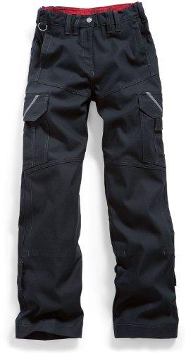 BP Workwear Damen Workerhose - schwarz/grau - Größe: 48