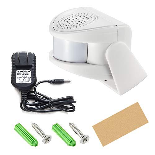 KERUI M5 Bewegungsmelder Alarmanlage mit Wireless Türklingel für Tür- / Türeingang/Haus und Laden/Büro, Sicherheitsalarm