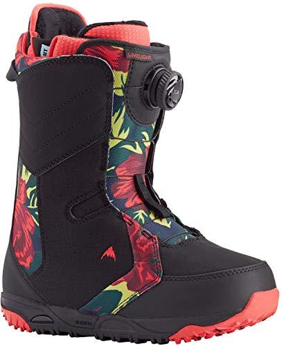 Burton Limelight Boa Snowboard Boot - Women's Black/Floral, 8.5