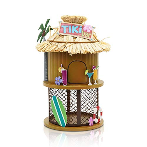 XFORTVogelfutterstation aus Metall, handgefertigt, für kleine Vögel, zum Aufhängen, bezauberndes Vogelfutterhaus für Bäume, Zäune, Wände oder als Gartengeschenk.