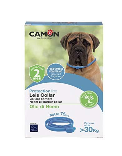 CAMON Leis Collar - Collare Barriera all'olio di Neem - Maxi 75 cm CANI OLTRE I 30 KG