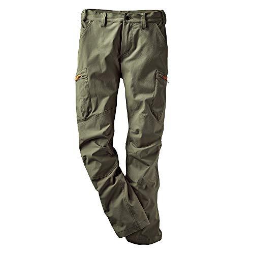 Haix Active Pro Pants Olive Leichte Funktionshose mit Taschen in sportlicher Optik.