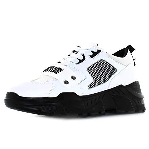 Versace Jeans Couture E0Ywasc4471604 Zapatillas Bajas Hombre Blanco 43