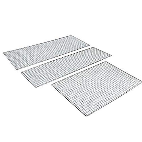 Great Deal! Niocaa Stainless Steel Grill grids Barbecue grids BBQ Wire mesh Stainless Steel Grill ma...