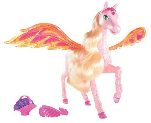 Barbie N0584 - Diamantschloss Pferd Glimmer