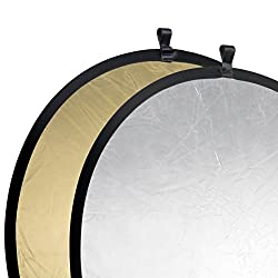 walimex pro Faltreflektor Gold/Silber, Ø107cm
