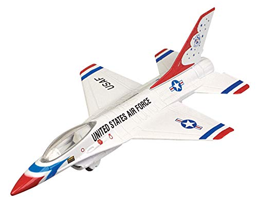 Sky Wings Maßstab 1: 100 Richmond Toys, Motormax, F-16 Fighting Falcon Druckguss Flugzeug