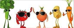 Küchenspritzschutz Fruit Gang