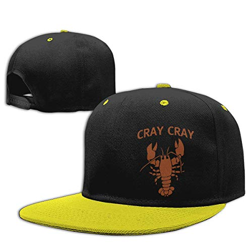 WYYCLD Fashion hat Cap Boys Girls Trucker Hat. Cray Cray Lobster Snapback Baseball Cap Hip-Hop