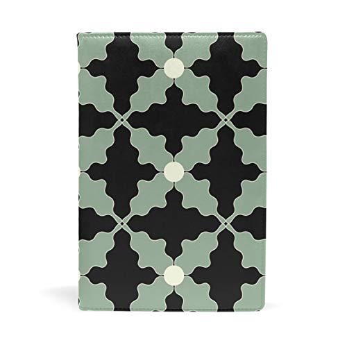 Malplena Bucheinband mit künstlerischem Muster, ideal für Schule und Geschenke
