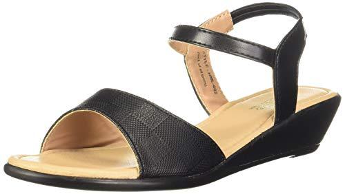 Aqualite Women's LHL00602L Black Slipper-UK 8 (42 EU) (LHL00602LBKBK08)