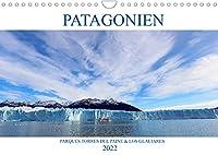 Patagonien - Parques Torres del Paine und Los Glaciares (Wandkalender 2022 DIN A4 quer): Erleben Sie echte Wildnis in Patagoniens Nationalparks! (Monatskalender, 14 Seiten )