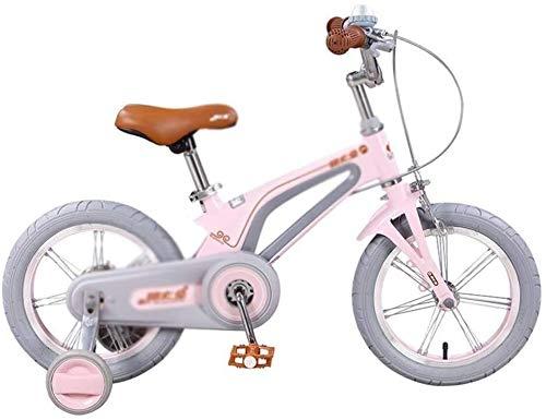 REWD Ligera Bicicleta de Equilibrio para niños pequeños Marco de Acero de la Bici de la Bicicleta Infantil 14-16 Pulgadas de niño con la Rueda de formación Crecer con su Hijo (Size : 16 Inches)