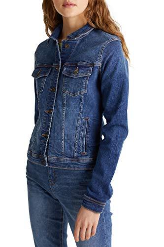 edc by Esprit 999CC1G802 Jacke, Damen, Blau XXL