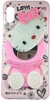 ANVIKA Mirror Hello Kitty Mobile Girl Case Cover for Xiaomi Redmi A2/MI A2 (Multi Color)