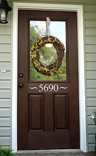 Voordeur Aantal Decal - Adres Decal - Outdoor Decal - 1 32