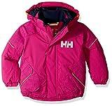 Helly Hansen Kids & Baby Snowfall 2 Waterproof Breathable Fully Insulated Ski Jacket, 039 Festival Fuchsia, Size 6