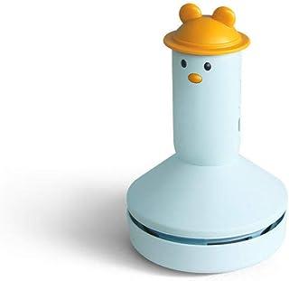 Creative USB Desktop Wireless Mini Car Handheld Vacuum Cleaner-Little cute blue