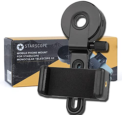 Telescope Phone Adapter - Universal Compatible Binocular Monocular Spotting Scope Telescope Microscope-Fits Almost All Smartphone on The Market,Portable Telescope for Phone