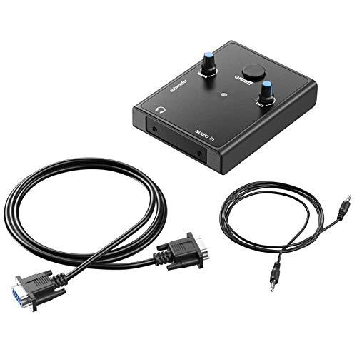 YUHUA ELE Ricambio Control Pod per Logitech Z-2300 Altoparlanti Computer Surround Sound Speaker System Cavo Telecomando (con Cavo)