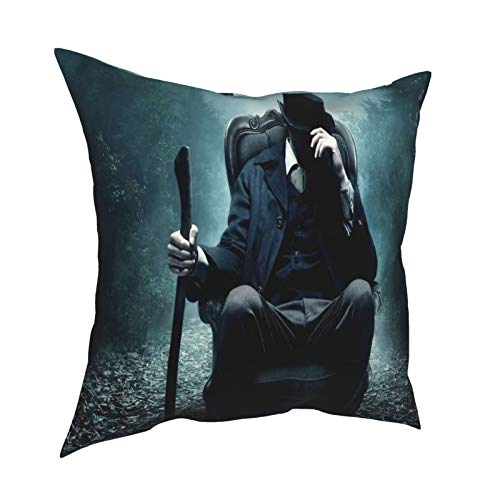 Onsael Home Decoration Comfortable Double-Sided Printing Sofa Cushion Office Pillow Bedside Backrest Car Lumbar Pillow Core Pillow Core Lumbar Pillow-Abraham Lincoln_Vampire Hunter_Movies