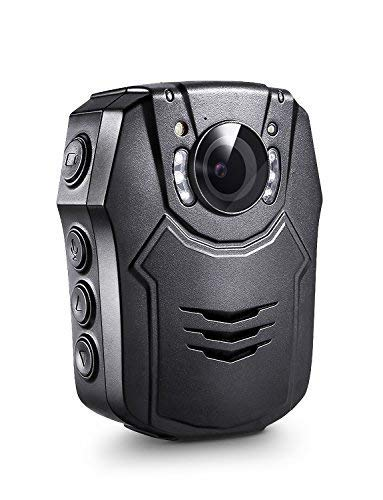 BOBLOV PD50 Body Camera 64GB 1296P Body Worn Mounted Camera Lightweight Smart Fast Charging Night Vision Cam 150 Degree Angle Playback 5-7Hours Recording (64G) (32GB)