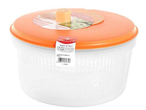 Home Salatschleuder, 26cm, Kunststoff, Orange
