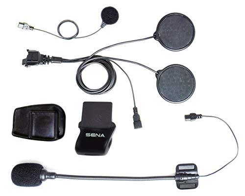 Sena SMH5-A0313 Kit Morsetto Casco per Bluetooth SPH10-FM, Cuffie Stereo e Interfono